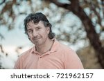 portrait of a handsome man in... | Shutterstock . vector #721962157