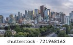 skyscrapers of banks and high   ... | Shutterstock . vector #721968163