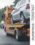 help on road transports wrecker ... | Shutterstock . vector #722027617