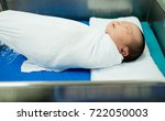 newborn asian baby girl... | Shutterstock . vector #722050003
