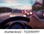 vintage tone image of people... | Shutterstock . vector #722050597