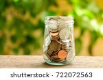 save money for investment... | Shutterstock . vector #722072563