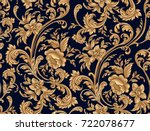 seamless pattern of decorative...