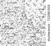 vector halftone black and white....   Shutterstock .eps vector #722081503