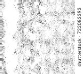 vector halftone black and white....   Shutterstock .eps vector #722083393