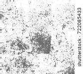 vector halftone black and white....   Shutterstock .eps vector #722085433