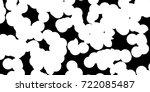 grunge black and white urban...   Shutterstock .eps vector #722085487
