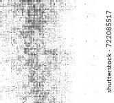 vector halftone black and white....   Shutterstock .eps vector #722085517