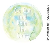 art of watercolor stains of...   Shutterstock .eps vector #722088373