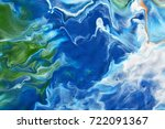 watercolor abstract bright...   Shutterstock . vector #722091367