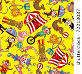 seamless circus pattern | Shutterstock .eps vector #72213037