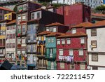 oporto  portugal   july 2016 ... | Shutterstock . vector #722211457