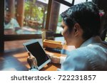 business people look for... | Shutterstock . vector #722231857