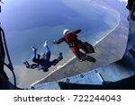 Small photo of Skydiving, parachute jump