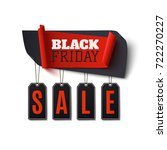 black friday sale  abstract... | Shutterstock . vector #722270227