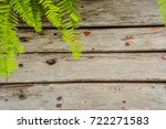 a wooden board background with... | Shutterstock . vector #722271583