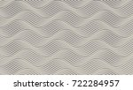 white wave band abstract... | Shutterstock . vector #722284957