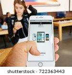 paris  france   sep 22  2017 ...   Shutterstock . vector #722363443