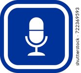 microphone icon   sign square...