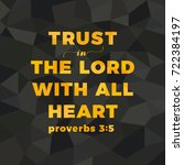 bible verse for christian or... | Shutterstock .eps vector #722384197