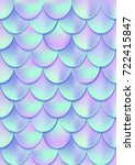 Holographic Mermaid Tail Card...