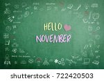 hello november greeting on