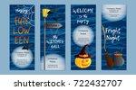 vector set of four vertical... | Shutterstock .eps vector #722432707
