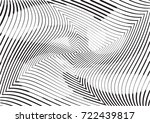 abstract twisted background.... | Shutterstock .eps vector #722439817