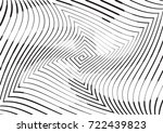 abstract twisted background.... | Shutterstock .eps vector #722439823