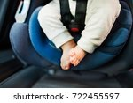 unrecognizable little baby in... | Shutterstock . vector #722455597
