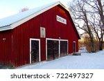 Old Red Ocher Wooden...