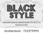 script handcrafted vector...   Shutterstock .eps vector #722575993