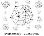 vector illustration with... | Shutterstock .eps vector #722589907