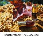 fragrant oil. scented oil.... | Shutterstock . vector #722627323