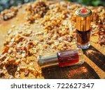 fragrant oil. scented oil.... | Shutterstock . vector #722627347