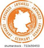 vintage germany european... | Shutterstock .eps vector #722650453