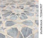 Small photo of Geometric star tiles at the Gur-i Amir in Samarkand