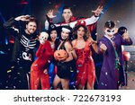 Halloween Party. Six Friends I...