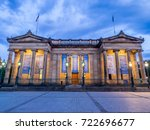 edinburgh  scotland   july 30 ... | Shutterstock . vector #722696677