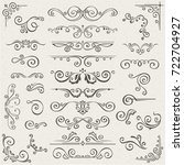 Set Of Swirl Elements For...