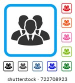 manager group icon. flat... | Shutterstock .eps vector #722708923