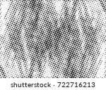halftone dots texture... | Shutterstock .eps vector #722716213
