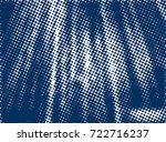 halftone dots texture... | Shutterstock .eps vector #722716237