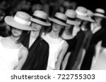 fashion show  catwalk  runway... | Shutterstock . vector #722755303