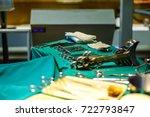 instruments in operating...   Shutterstock . vector #722793847
