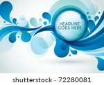vector of abstract background | Shutterstock .eps vector #72280081
