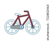 bicycle icon image | Shutterstock .eps vector #722802463