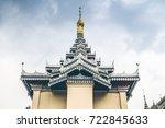 kyainge tong  myanmar   march... | Shutterstock . vector #722845633