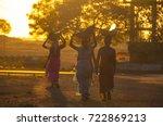 bhiwapur  nagpur  maharashtra ... | Shutterstock . vector #722869213