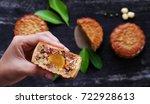 close up of vietnamese sweet... | Shutterstock . vector #722928613